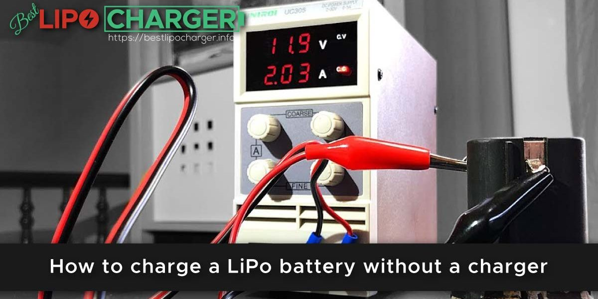 How to charge a LiPo battery without a charger