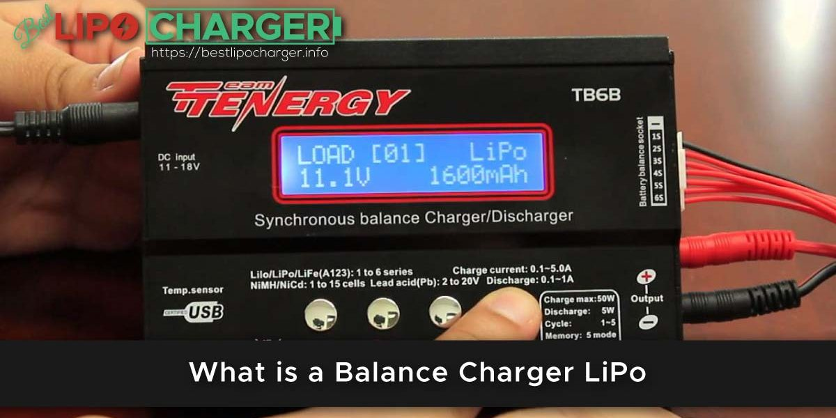 What is a Balance Charger LiPo